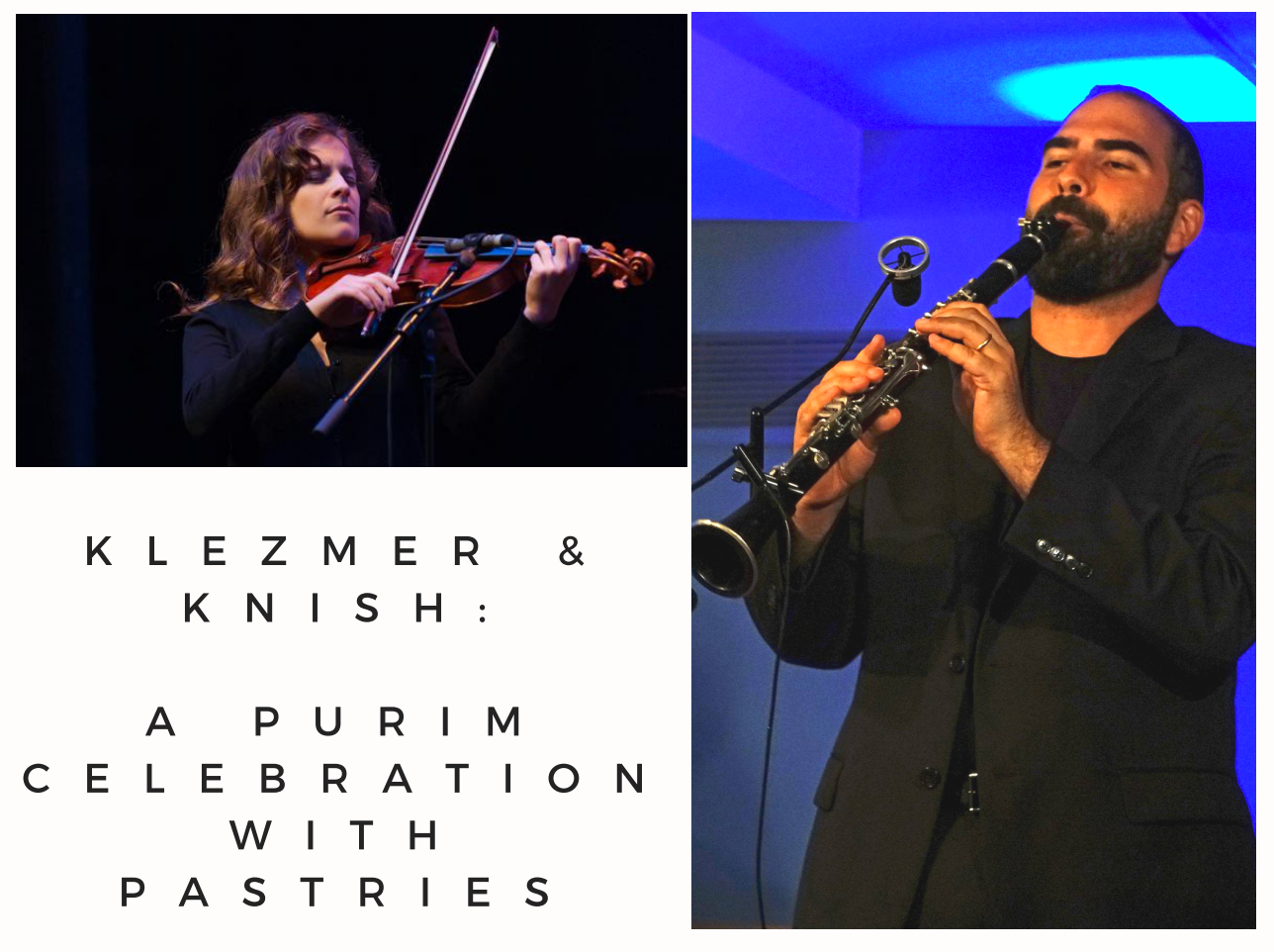Klezmer and Knishes: A Purim Celebration With Pastries