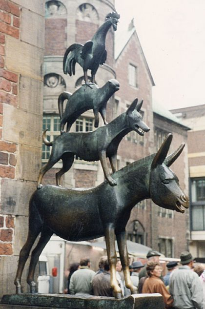 Bremen Town Statue