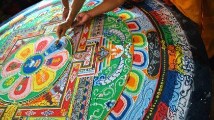 Buddhist Sand Mandala (2)