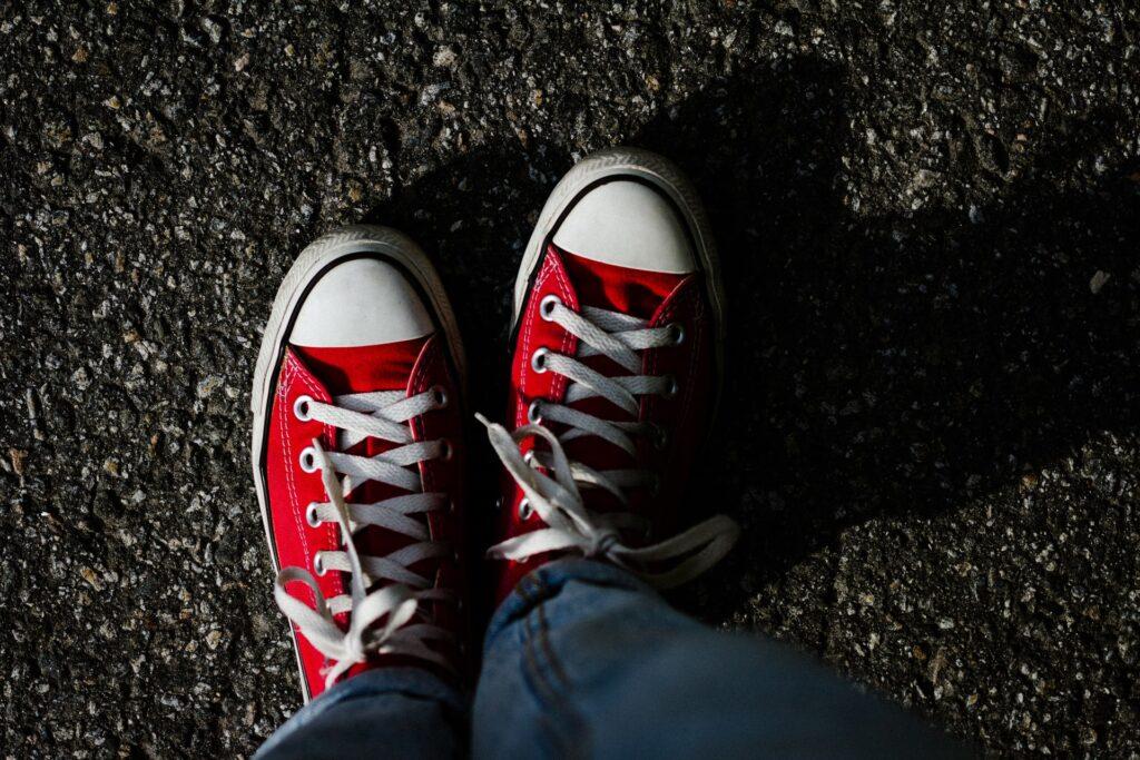 Teenage Sneakers