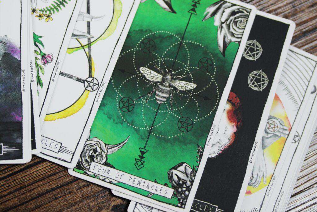 Tarot Reading -- Jen Theodore -- Unsplash