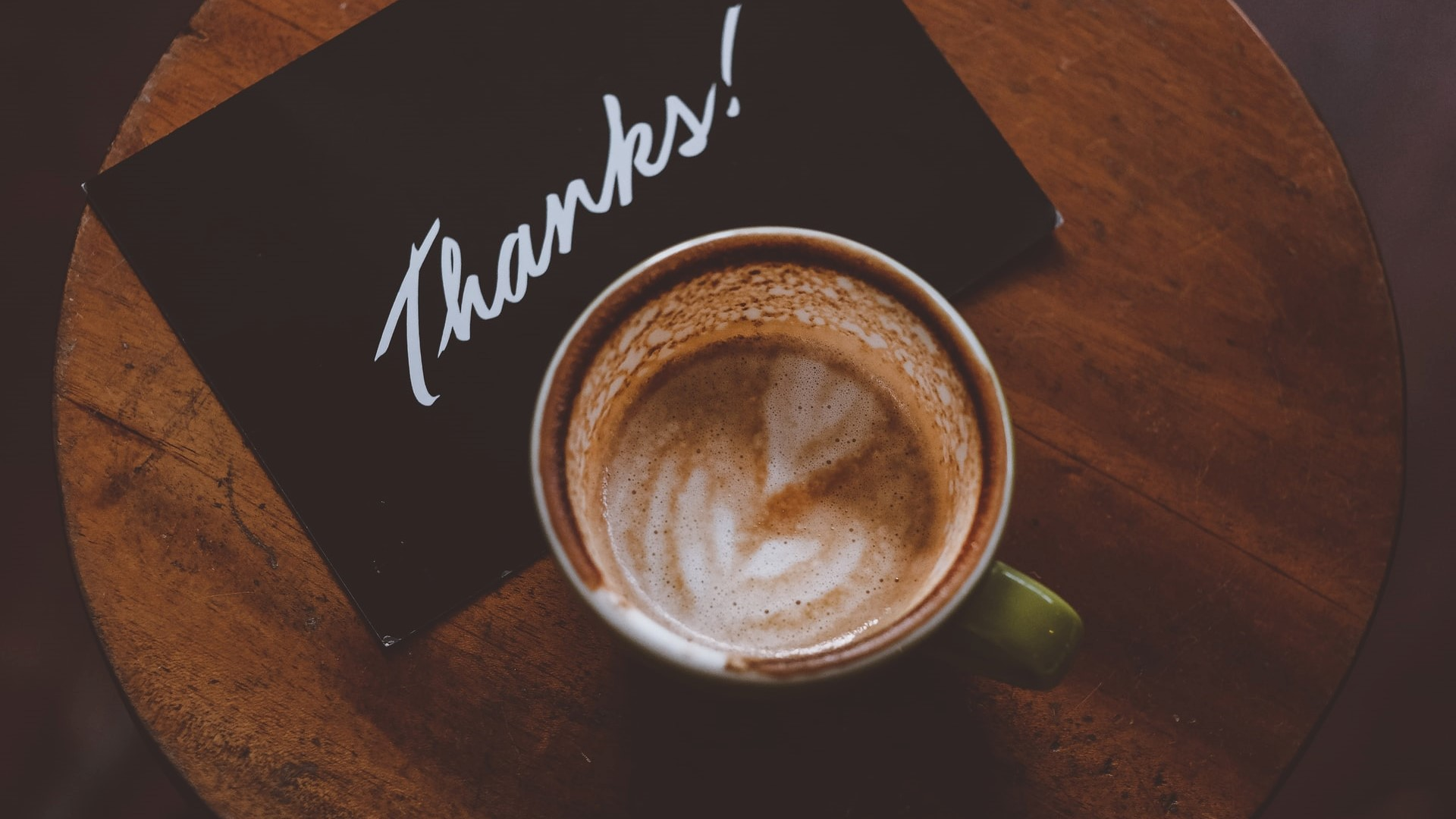 Thanks - Coffee Cup-2