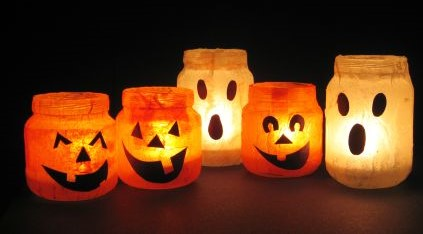 Halloween Votives (3)